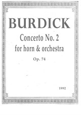 Concerto No.2 for Horn and Orchestra