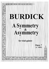 A Symmetry & Asymmetry for wind quintet