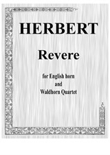 Revere for English horn and waldhorn quartet