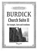 Church Suite II for trumpet, horn and trombone