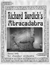 Abracadabra for chamber orchestra