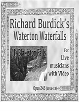 Waterton Waterfalls: II. Blakeston Falls for English horn, horn, harp, cello and videotape