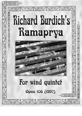 Ramaprya for wind quintet